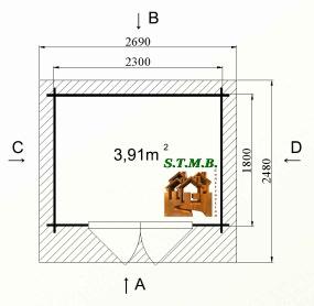 Photo plan abri jardin coton 5 stmb 1