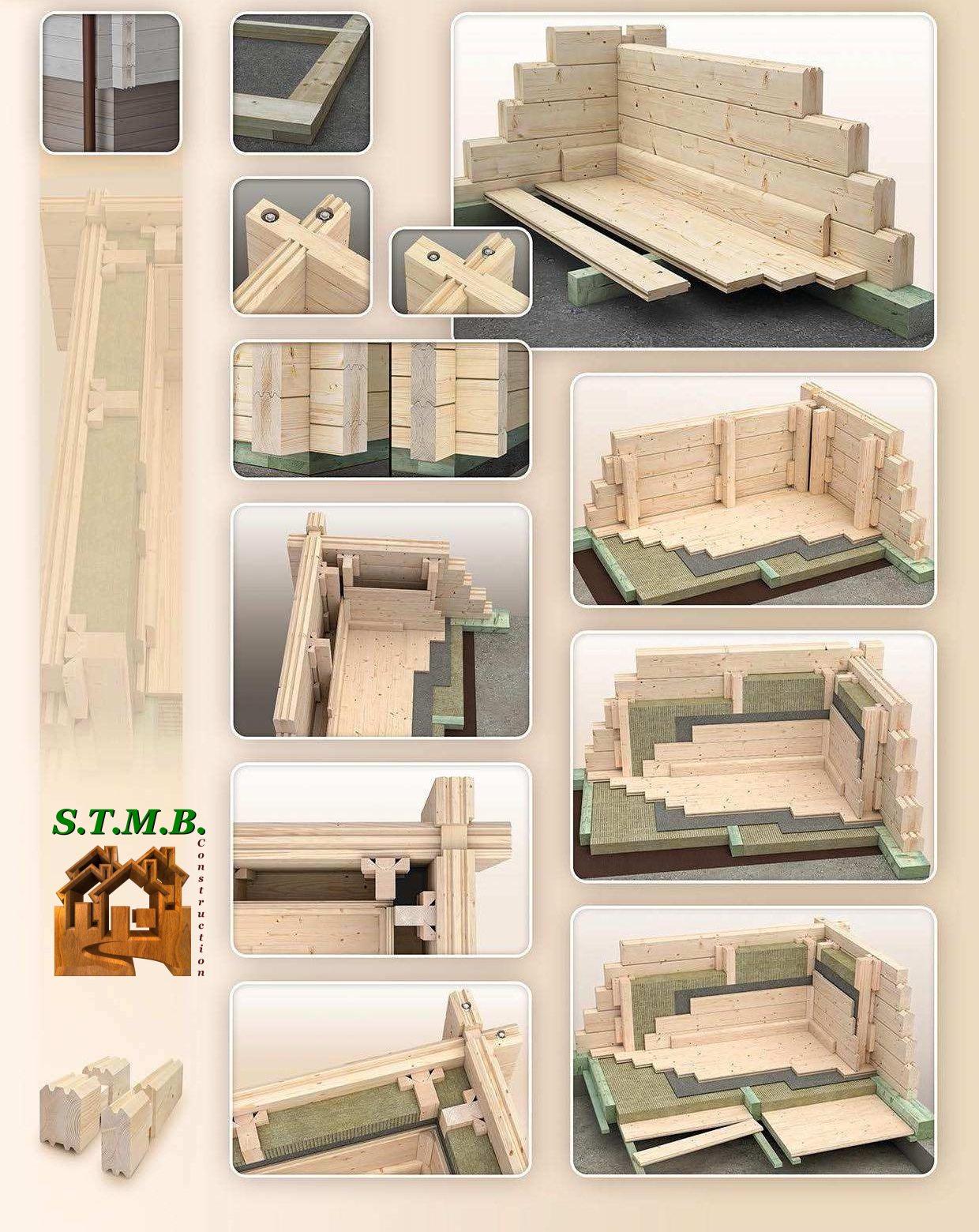 Tout sur l 39 isolation d 39 une maison ossature en bois stmb for Isolation chalet bois madrier