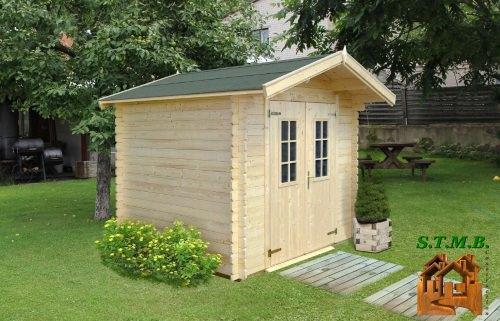 Abri de jardin coton 7 5 livr gratuitement domicile for Petit chalet de jardin en bois