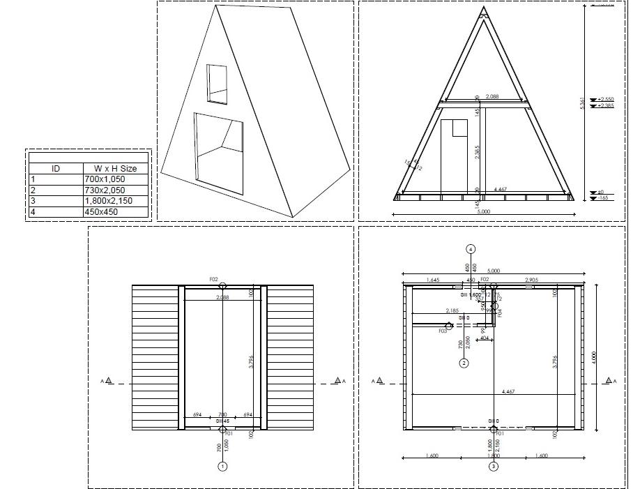 Kit chalet bois tipi 20 m - Fabrication d un tipi ...