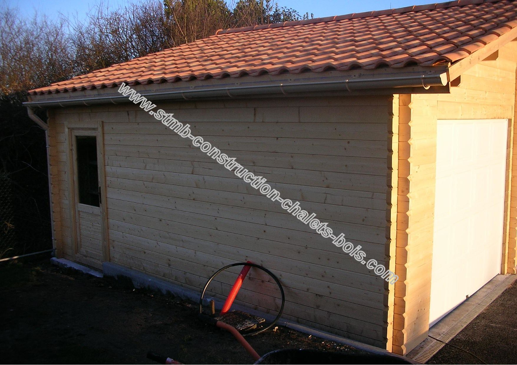 Garage 2 places twix m2 en kit livraison comprise for Garage 2 places