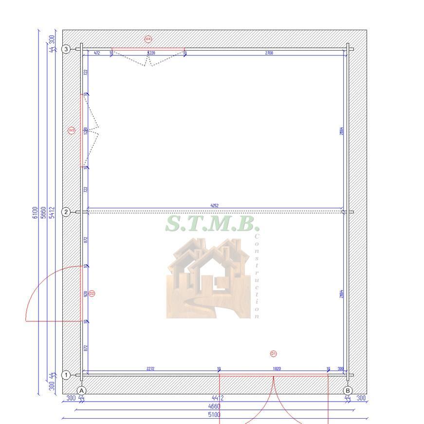 Plan chalet en bois ambert26 stmb construction