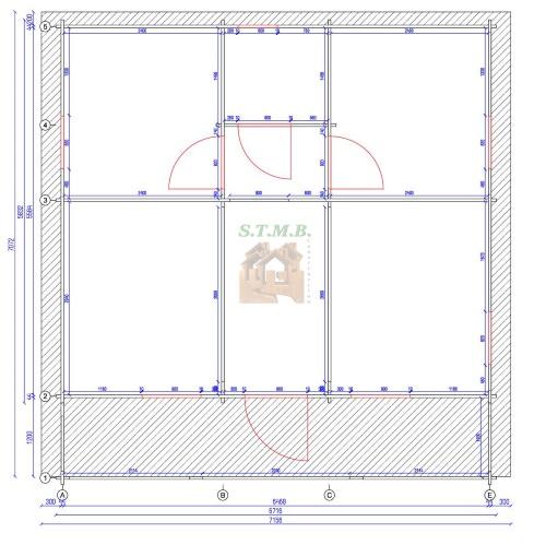 Plan chalet en bois poitiers stmb construction