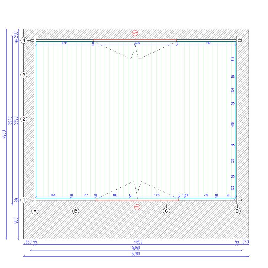 Plan etage chalet en bois mezzanine cournon 20msb stmb construction