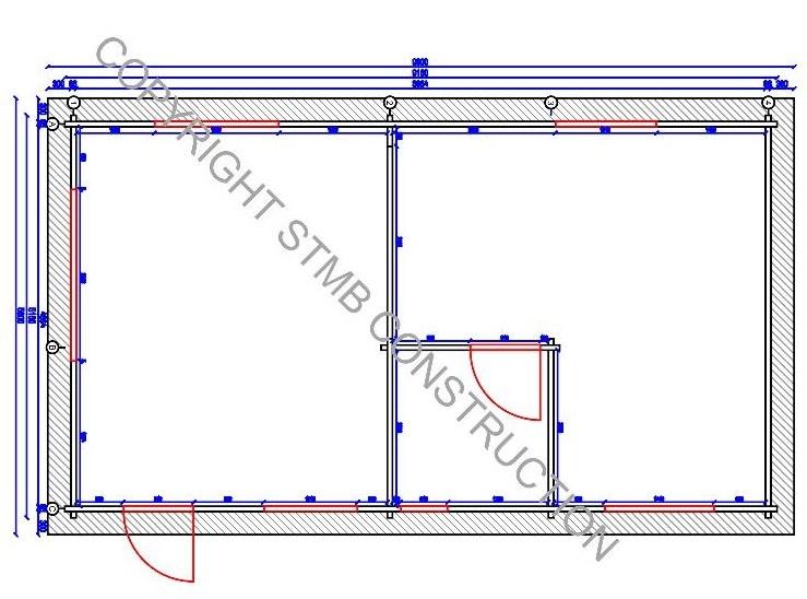 Plan hd chalet bois habitable 47 m2 stmb construction