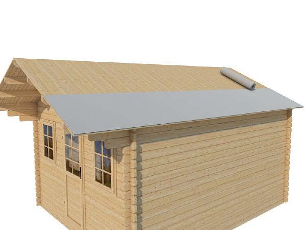 Ll comment isoler le sol et la toiture d 39 un chalet bois en kit - Couverture chalet de jardin ...