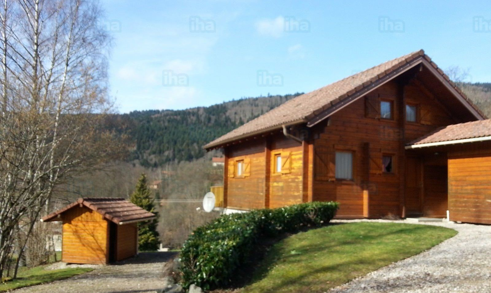chalet bois residence secondaire