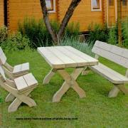 Salon de jardin kit salon de jardin salon de jardin bois salon de jardin en bois