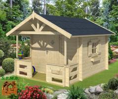 Une cabane en bois pour enfants stmb construction