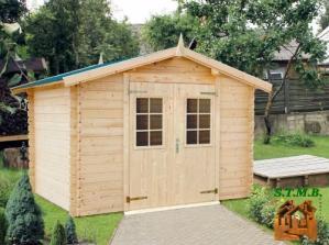 Une cabane en bois pour un jardin d enfants stmb construction